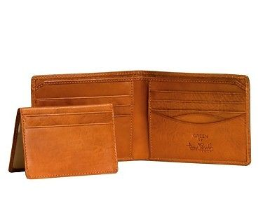 Tony Perotti Italian Leather Bifold Wallet w/ Removable Card Case