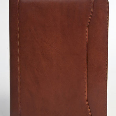 "Tony Perotti Italian Leather 8.5x11"" Notepad Business Writing Padfolio"