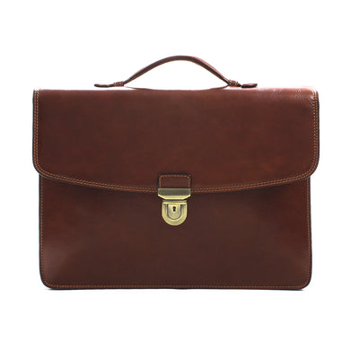 Tony Perotti Alfero Single Compartment Document Briefcase
