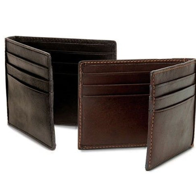Tony Perotti Italian Leather Express Bifold Credit Card Holder Wallet