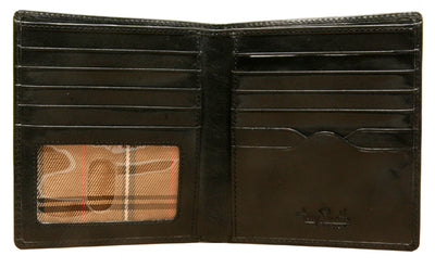 Tony Perotti Italian Leather Express Classic Hipster Bifold Wallet w/ ID