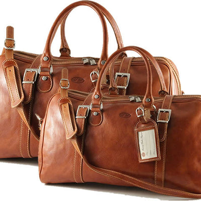 Tuscany Leather Berlin - Leather travel set