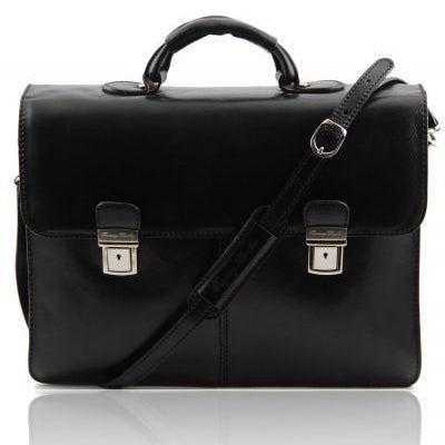 Tuscany Leather Bolgheri Leather briefcase