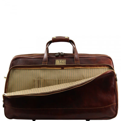 Tuscany Leather Bora Bora - Trolley leather bag - Large size
