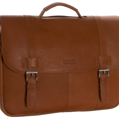 Kenneth Cole Reaction Columbian Leather Portfolio, Briefcase
