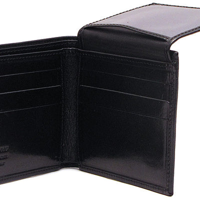 Floto Mens Venezia Wallet in Black