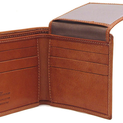 Floto Mens Venezia Wallet in Brown