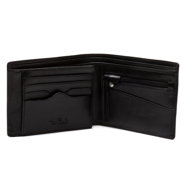 aab37e39922eef Tony Perotti Mens Italian Cow Leather Large BiFold Wallet with Zippered  Coin Pocket and Credit Card Flap Tony Perotti Mens Italian Cow Leather  Large BiFold ...