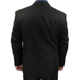 SALE! Sharp Mens 2pc. 2-B Comfortable Stretch Waist Suit - BLACK - Triple Blessings