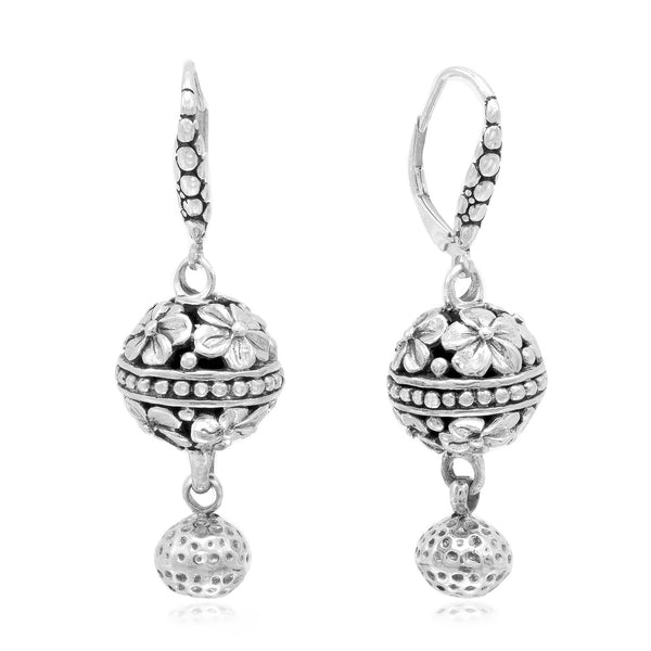 Precious Sarda 925 Sterling Silver Finally Complete French Wire Earrings - Triple Blessings