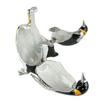 Lovely Rucinni Penguin Swarovski Crystal Trinket Jewelry Box - Triple Blessings