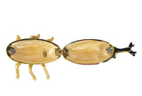 Lovely Rucinni Hercules Beetle Swarovski Crystal Trinket Box - Red - Triple Blessings