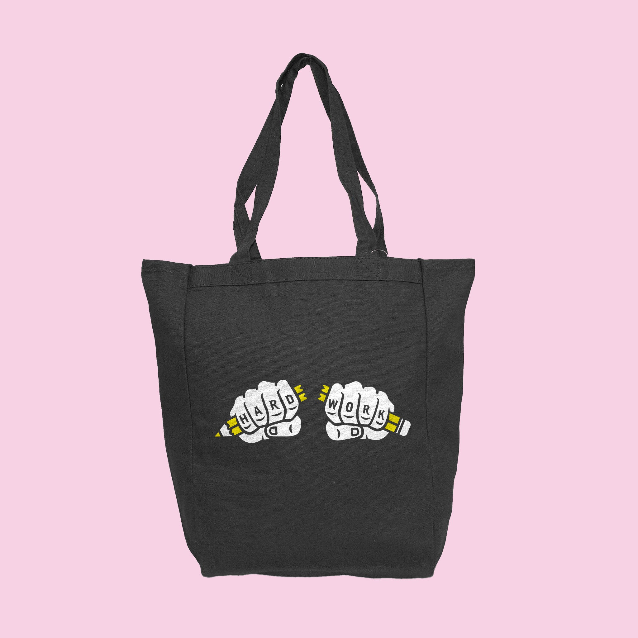 Hard Work Tote Bag