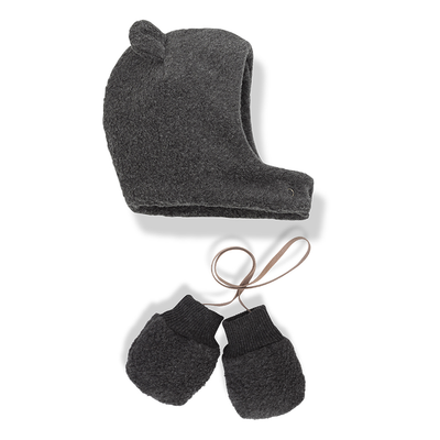 1 + in the family linus hat & mittens set