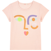 billieblush abstract face t-shirt