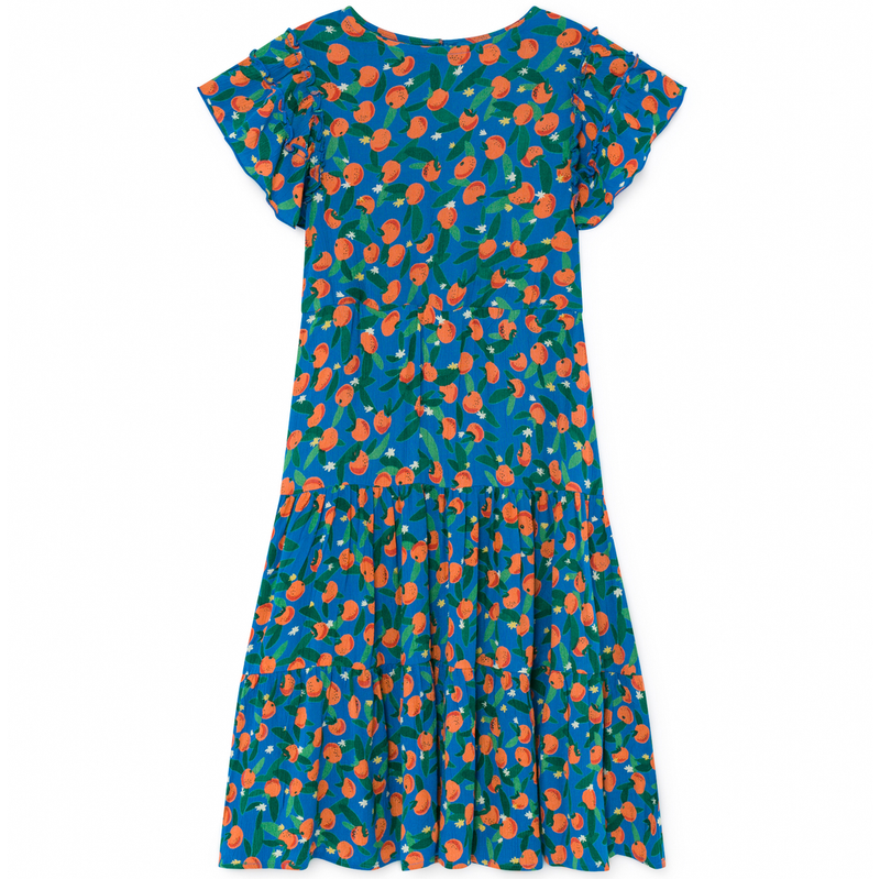 yoya, kids, girls, bobo choses, lightweight, casual, summer, coverup, graphic print, maxi dress