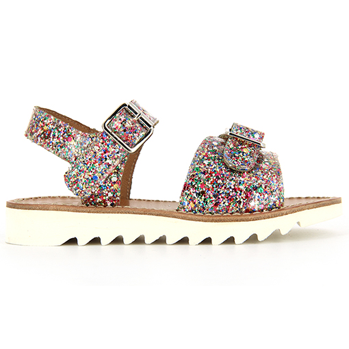 pom d'api ripple buckle sandals