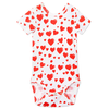 mini rodini heart bodysuit
