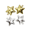 milk & soda metallic star duck clip set