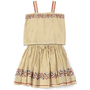 caramel baby & child olida skirt set