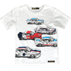 finger in the nose racers t-shirt