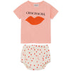 bobo choses chachacha t-shirt baby set