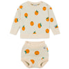 bobo choses oranges sweater set