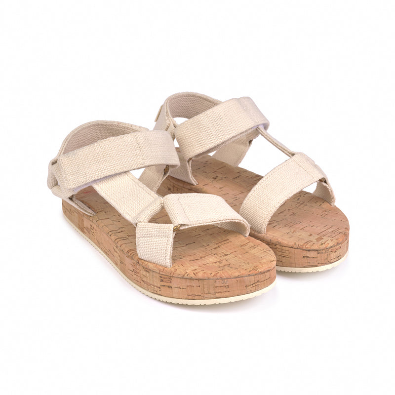 yoya, kids, girls, boys, bobo choses, casual, summer, velcro strap, cork, flatform, sandals, shoes