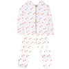 yoya kids childrens emile et ida summer baby graphic printed zip up hoodie sweatshirt leggings outfit set