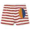 bobo choses stripes terry shorts