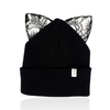 milk & soda pernille kitty ear beanie