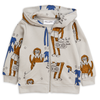 yoya kids childrens boys girls summer casual mini rodini graphic printed zip up hoodie sweatshirt