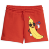 yoya kids childrens boys girls mini rodini banana sweat shorts summer casual graphic printed pull on sweat shorts