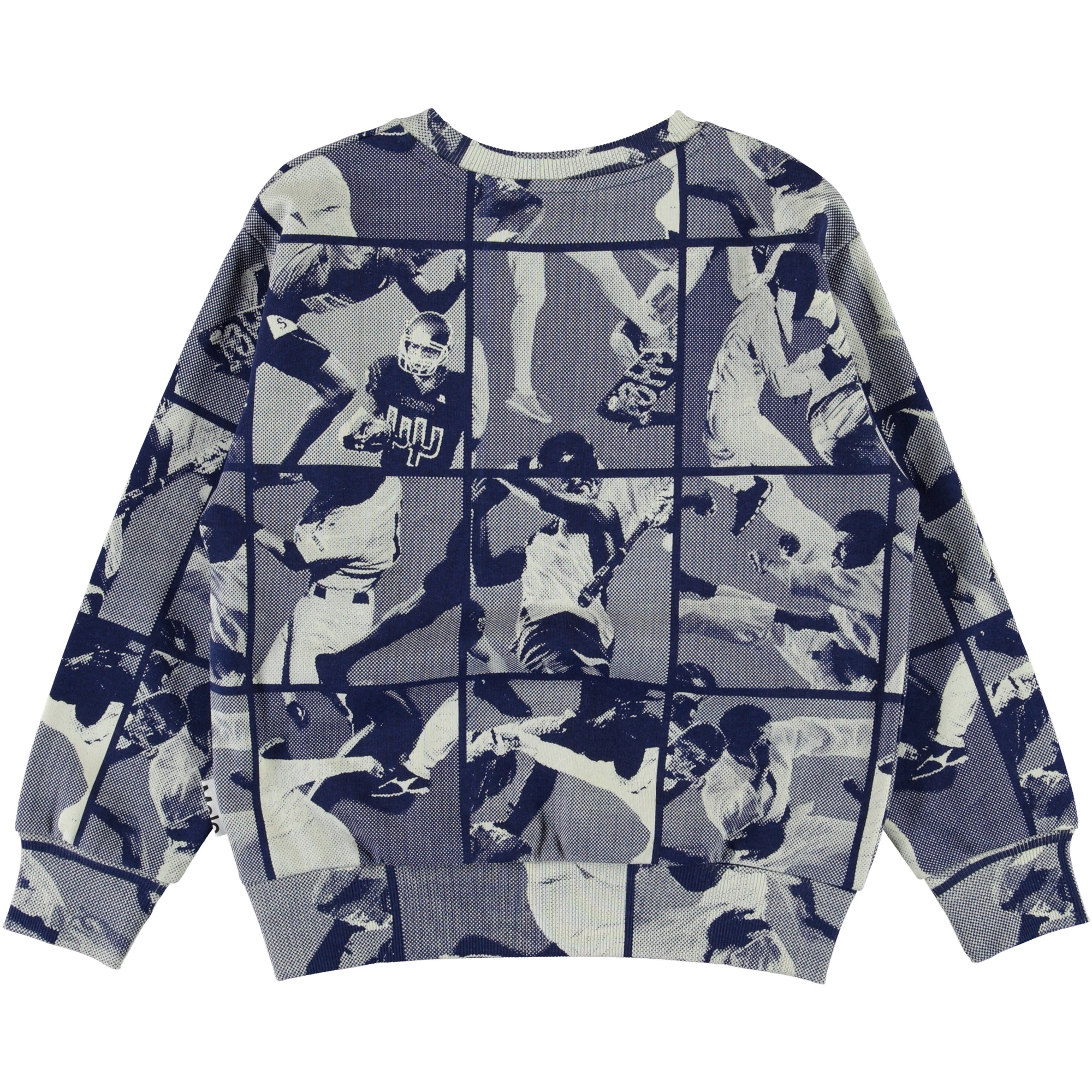 molo mik graphic sweatshirt