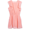 yoya, kids, girls, siaomimi, summer, dressy, casual, sleeveless, ruffle shoulder, cinch waist, dress