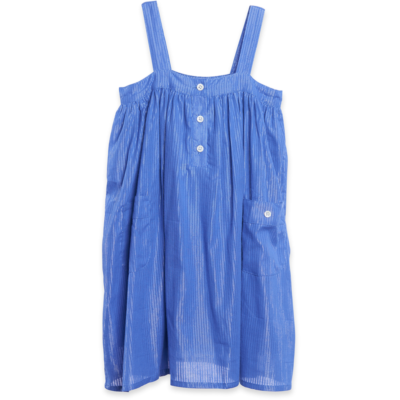 yoya, kids, girls, siaomimi, summer, casual, tank top, sleeveless, button front, pocket, shift dress