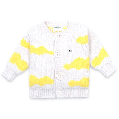 bobo choses clouds baby cardigan