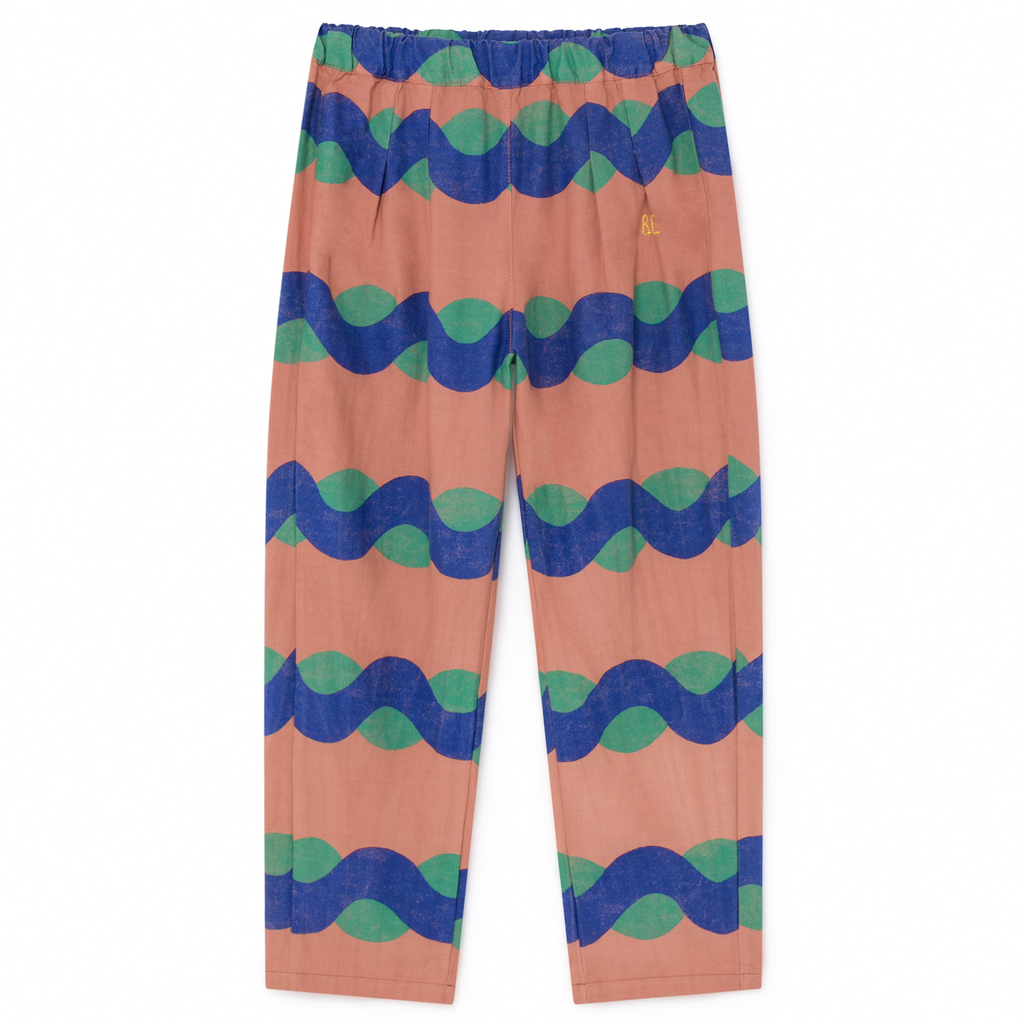 yoya, kids, boys, girls, bobo choses, lightweight, casual, graphic printed, baggy trousers, pants