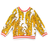 mini rodini bengal tiger athletic sweatshirt