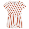 yoya kids childrens emile et ida striped terry playsuit baby summer terry romper onesie