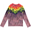 yoya, kids, girls, molo, summer, graphic printed, swim, rash guard, swim shirt