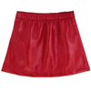 yoya kids childrens andorine girls fall winter patent leather mini skirt