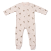 yoya kids childrens bonton baby girls onesie pajama deer print
