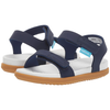 yoya kids native charley sandals velcro dual closures summer blue