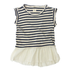 nico nico celeste striped top