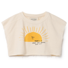 bobo choses sun cropped sweatshirt