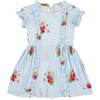 yoya, kids, girls, morley, summer, dressy, graphic printed, ruffled, dress