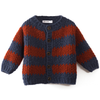 bobo choses big stripes knitted cardigan
