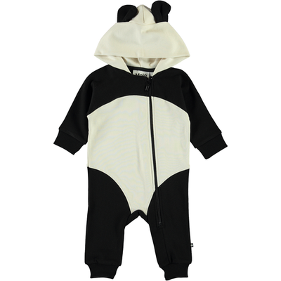 yoya, kids, baby, boys, girls, molo, summer, lightweight, coverall, lounge, onesie, hooded, ears, zip up, panda
