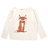 bobo choses long sleeve fox t-shirt